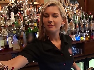 Who wanted nearby fuck a barmaid?