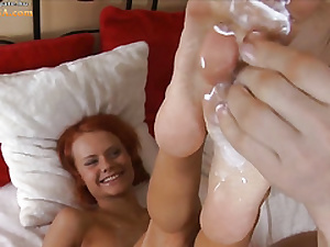 Hellacious Clara object pain in the neck fucked