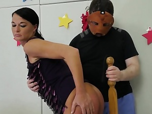 Painful anal penalty pal's daughter Talent Ho