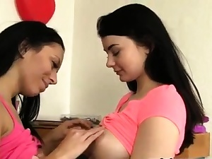 Unexperienced lesbian desire and first anal teen audition hd