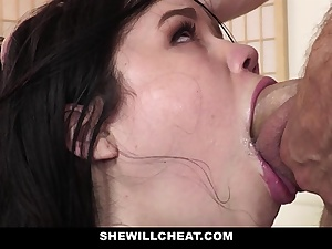 SheWillCheat - Cheating Wifey Gets Vulva Torn up