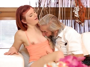 DADDY4K. Beauty participates in crazy threesome